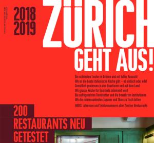 Zürich geht aus, 2018/2019